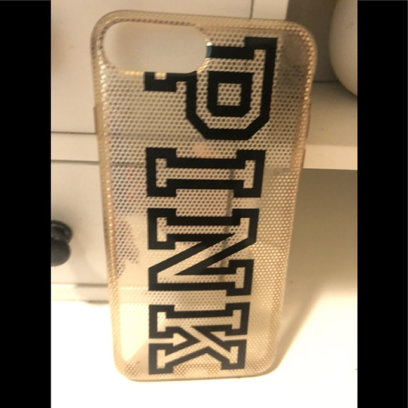 Pink from Victoria secret iPhone 7or 8 plus Case
